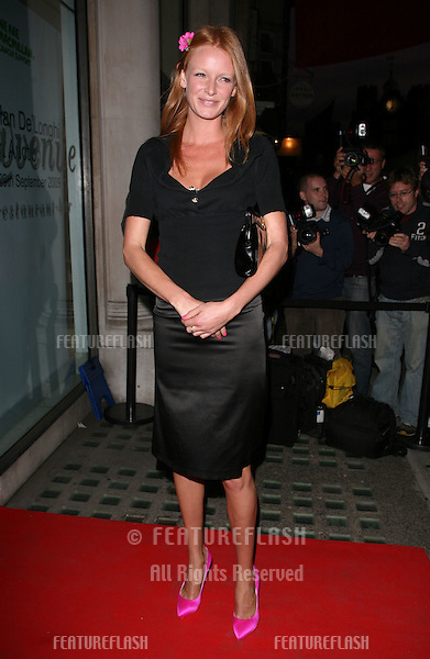 Olivia Inge arriving for the Macmillan De'Longhi Art Auction 2009, held at The Avenue, London. 29/09/2009.  Picture By: Alexandra Glen / Featureflash..