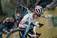 Katie Compton (USA/KFC Racing p/b Trek/Panache)<br /> <br /> Women Elite race<br /> <br /> UCI cyclocross World Cup Koksijde / Belgium 2017