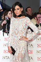 Lilah Parsons<br /> at the National TV Awards 2017 held at the O2 Arena, Greenwich, London.<br /> <br /> <br /> &copy;Ash Knotek  D3221  25/01/2017