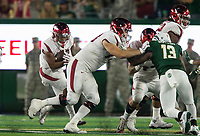 NWA Democrat-Gazette/BEN GOFF @NWABENGOFF<br /> Devwah Whaley, Arkansas running back, carries in the 3rd quarter vs Colorado State Saturday, Sept. 8, 2018, at Canvas Stadium in Fort Collins, Colo.