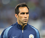 Claudio Bravo of Manchester City during the UEFA Champions League Group C match at The Etihad Stadium, Manchester. Picture date: September 14th, 2016. Pic Simon Bellis/Sportimage