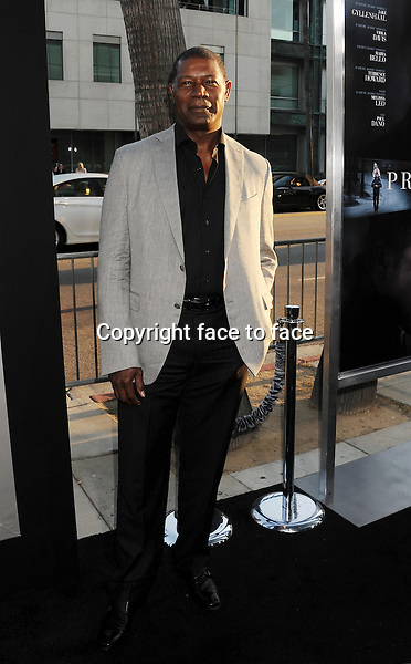 BEVERLY HILLS, CA- SEPTEMBER 12: Actor Dennis Haysbert arrives at the 'Prisoners' - Los Angeles Premiere at the Academy of Motion Picture Arts and Sciences on September 12, 2013 in Beverly Hills, California.<br />