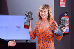 Emma Suarez pose to the media with the Goya award at Madrid Marriott Auditorium Hotel in Madrid, Spain. February 04, 2017. (ALTERPHOTOS/BorjaB.Hojas)
