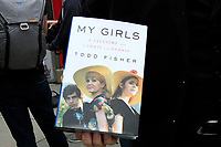 LOS ANGELES - MAY 24: My Girls by Todd Fisher, Book at a ceremony to unveil a commemorative plaque in honor of Carrie Fisher at TCL Chinese Theatre IMAX on May 24, 2018 in Los Angeles, CA