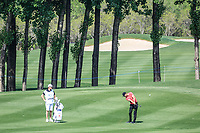 Lucas Bjerregaard (DEN) in action during the third round of the Volvo China Open played at Topwin Golf and Country Club, Huairou, Beijing, China 26-29 April 2018.<br /> 28/04/2018.<br /> Picture: Golffile | Phil Inglis<br /> <br /> <br /> All photo usage must carry mandatory copyright credit (&copy; Golffile | Phil Inglis)