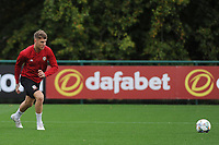Joe Roddon of Wales in action during the Wales Training Session at The Vale Resort in Cardiff, Wales, UK. Monday 8 October 2018