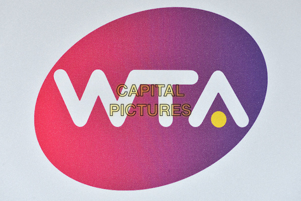 WTA logo<br /> at the WTA Pre-Wimbledon Party at  The Roof Gardens, Kensington, London England 25th June 2015.<br /> CAP/PL<br /> &copy;Phil Loftus/Capital Pictures
