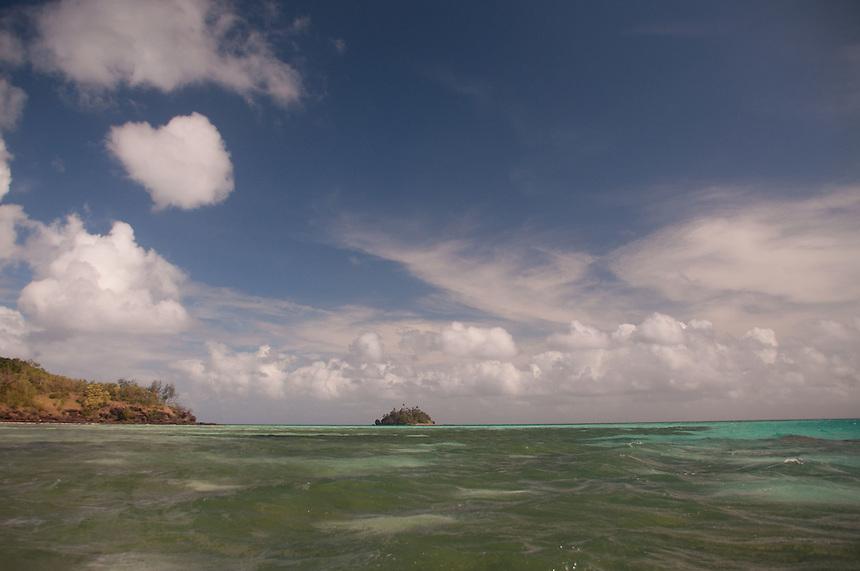 Looking Towards Paddy's Island from Turtle Island, Yasawa Islands, Fiji