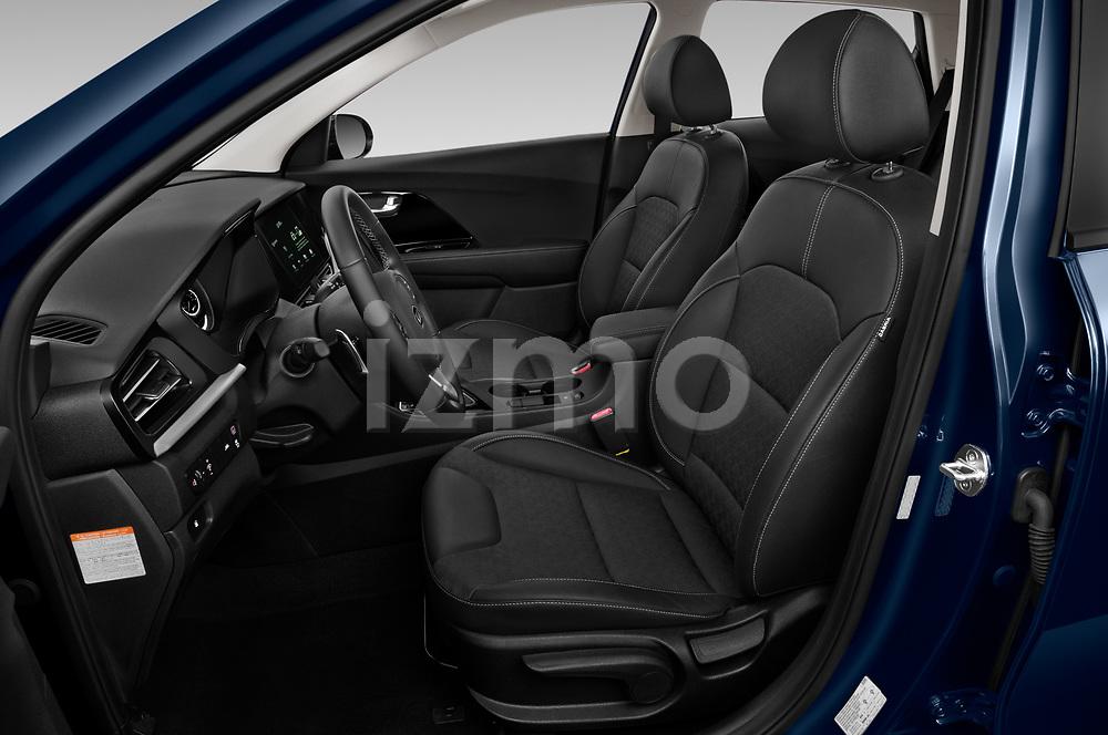 Front seat view of 2020 KIA Niro More 5 Door Hatchback Front Seat  car photos