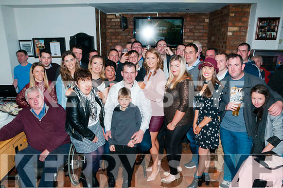 30th Birthday: Neilus Flaherty, Moyvane celebrating his 30th birthday with family & friends at Brosnan's Bar, Listowel on Saturday night last.