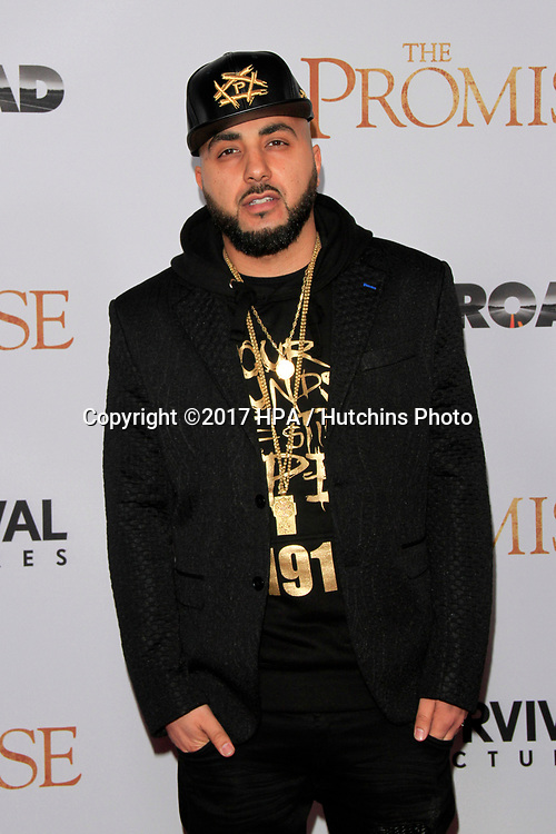 "LOS ANGELES - APR 12:  R-Mean at the ""The Promise"" Premiere at the TCL Chinese Theater IMAX on April 12, 2017 in Los Angeles, CA"