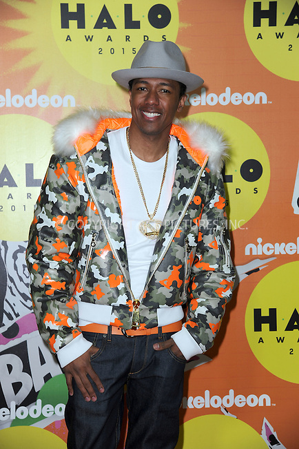 WWW.ACEPIXS.COM<br /> November 14, 2015 New York City<br /> <br /> Nick Cannon attending the 2015 Nickelodeon HALO Awards at Pier 36 on November 14, 2015 in New York City.<br /> <br /> Credit: Kristin Callahan/ACE<br /> Tel: (646) 769 0430<br /> e-mail: info@acepixs.com<br /> web: http://www.acepixs.com