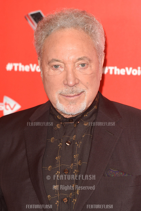 "LONDON, UK. January 03, 2019: Sir Tom Jones at the launch photocall for the 2019 series of ""The Voice"" London.<br /> Picture: Steve Vas/Featureflash"