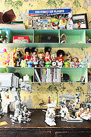 toys on shelves