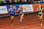 Kana Ichikawa (JPN), <br /> AUGUST 25, 2018 - Athletics : <br /> Women's 100m Qualification <br /> at Gelora Bung Karno Main Stadium <br /> during the 2018 Jakarta Palembang Asian Games <br /> in Jakarta, Indonesia. <br /> (Photo by Naoki Morita/AFLO SPORT)