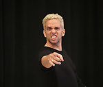 """Nick Cordero In Rehearsal with the Kennedy Center production of """"Little Shop of Horrors"""" on October 11 2018 at Ballet Hispanica in New York City."""