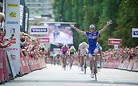 winner: Arnaud Démare (FRA)<br /> <br /> Eneco Tour 2013<br /> stage 2: Ardooie - Vorst (Brussel)<br /> 177km