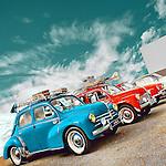 Vintage americana 60's car