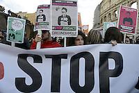 Roma, 3 Dicembre 2014<br /> Contro il jobs act in discussione e votazione al senato, precari precarie, studenti e studentesse in corteo.