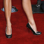 """Actress Brooke Burns 's shoes at the Premiere Of Fox's """"What Happens In Vegas"""" on May 1, 2008 at the Mann Village Theatre in Los Angeles, California."""
