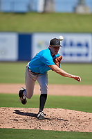 Miami Marlins pitcher Chris Mokma (44) during an Instructional League game against the Washington Nationals on September 26, 2019 at FITTEAM Ballpark of The Palm Beaches in Palm Beach, Florida.  (Mike Janes/Four Seam Images)