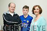 l-r  Rosemary Broderick, Sean Broderick and Tim Broderick who are the host family for 4 Gloucestershire Boys for John Mitchels Club Féile next weekend