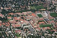 CU Boulder Campus aerial