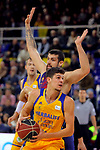 League ACB-ENDESA 2017/2018 - Game: 12.<br /> FC Barcelona Lassa vs Herbalife Gran Canaria: 77-88.<br /> Adrien Moerman vs Oriol Pauli.