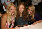 OLTL Bree Williamson - ATWT Jennifer Ferrin - GL Marcy Rylan at 22nd Annual Broadway Flea Market & Grand Auction to benefit Broadway Cares/Equity Fights Aids on Sunday, September 21, 2008 in Shubert Alley, New York City, New York. (Photo by Sue Coflin/Max Photos)