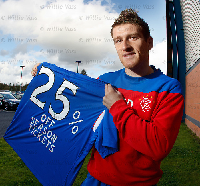Steven Davis in season tickets promotion