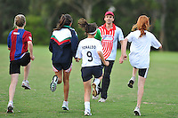 Central FC U15 Girls Running Training Session 1