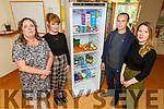 Attending the launch of Community Fridge at the St Brigid's Family Resource Centre on Friday.<br /> Front L to r; Brian McCannon and Rose O'Reiley, Back l to r: Maureen O'Sullivan (Project Co-Ordinator St Bridgets) and Courtney Sheehy (FoodShare Kerry)