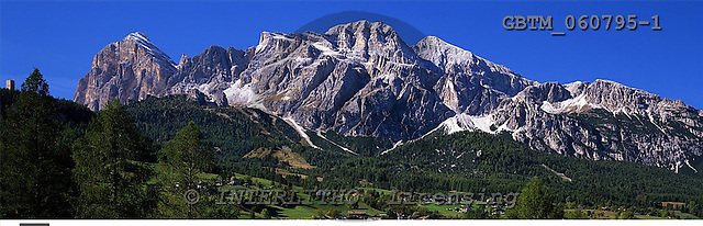 Tom Mackie, LANDSCAPES, panoramic, photos, The Dolomites, Cortina d' Ampezzo, Veneto, Italy, GBTM060795-1,#L#