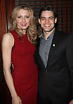 Nina Arianda & Jeremy Jordan.Behind the Scenes at the 2012 Tony Award-Meet The Nominees Press Reception at Millennium Broadway Hotel on May 2, 2012 in New York City. © Walter McBride/WM Photography .