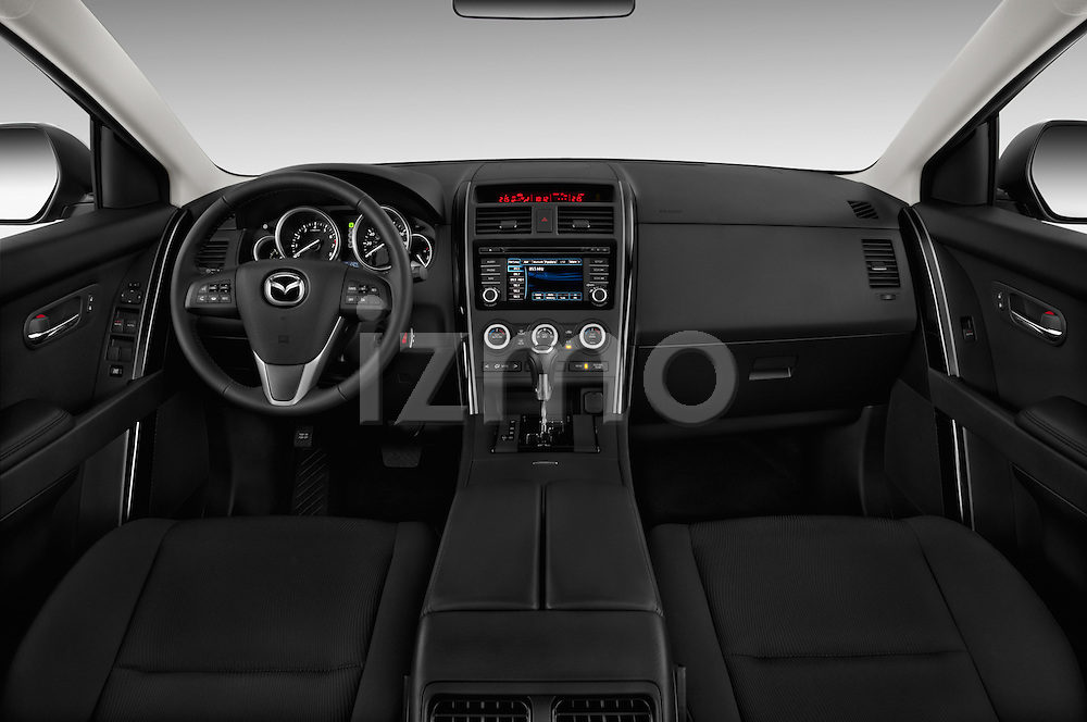 Dashboard photo of a 2013 Mazda CX-9
