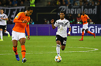 Serge Gnabry (Deutschland Germany) gegen Virgil Van Dijk (Niederlande) - 06.09.2019: Deutschland vs. Niederlande, Volksparkstadion Hamburg, EM-Qualifikation DISCLAIMER: DFB regulations prohibit any use of photographs as image sequences and/or quasi-video.