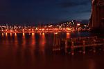Granville marina next  to Granville St bridge, Granville.Vancouver,British Colombia, Canada.