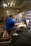 18 OCT 2017:  The Mountain West Men's Basketball Media Summit takes place at the Hard Rock Hotel and Casino in Las Vegas, NV.   Jamie Schwaberow/NCAA Photos