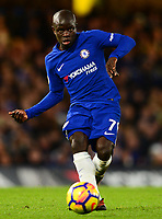 N'Golo Kante of Chelsea during the EPL - Premier League match between Chelsea and Brighton and Hove Albion at Stamford Bridge, London, England on 26 December 2017. Photo by PRiME Media Images.