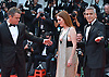 02.09.2017; Venice, Italy: GEORGE CLOONEY, JULIANNE MOORE AND MATT DAMON <br /> attends the premiere of &ldquo;Suburbicon&rdquo; at the 74th annual Venice International Film Festival.<br /> Mandatory Credit Photo: &copy;NEWSPIX INTERNATIONAL<br /> <br /> IMMEDIATE CONFIRMATION OF USAGE REQUIRED:<br /> Newspix International, 31 Chinnery Hill, Bishop's Stortford, ENGLAND CM23 3PS<br /> Tel:+441279 324672  ; Fax: +441279656877<br /> Mobile:  07775681153<br /> e-mail: info@newspixinternational.co.uk<br /> Usage Implies Acceptance of Our Terms &amp; Conditions<br /> Please refer to usage terms. All Fees Payable To Newspix International