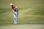 SUGAR GROVE, IL - MAY 31: Max McGreevy of the University of Oklahoma chips during the Division I Men's Golf Team Championship held at Rich Harvest Farms on May 31, 2017 in Sugar Grove, Illinois. (Photo by Jamie Schwaberow/NCAA Photos via Getty Images)