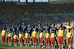 France team group line-up (FRA), JULY 4, 2014 - Football / Soccer : FIFA World Cup Brazil 2014 quarter-finals match between France 0-1 Germany at Estadio do Maracana in Rio de Janeiro, Brazil. (Photo by FAR EAST PRESS/AFLO)