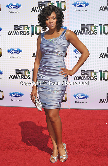 Taraji P Henson _59   -<br /> 10th Ann BET Awards 2010 at the Shrine Auditorium In Los Angeles.