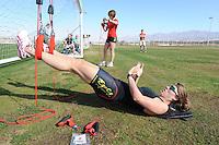 SCHAATSEN: EILAT (ISR): Trainingskamp Team Op=Op Voordeelshop, 17-01-2012, Natasja Bruintjes, ©foto Martin de Jong