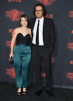 Dan Cohen &amp; Guest at the premiere for Netflix's &quot;Stranger Things 2&quot; at the Westwood Village Theatre. Los Angeles, USA 26 October  2017<br /> Picture: Paul Smith/Featureflash/SilverHub 0208 004 5359 sales@silverhubmedia.com