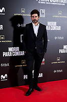 Hernan Zin attends to 'Morir para contar' film premiere during the Madrid Premiere Week at Callao City Lights cinema in Madrid, Spain. November 13, 2018. (ALTERPHOTOS/A. Perez Meca) /NortePhoto.com