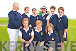 GOLF FINAL: Member's of the Killarney Ladies Golf and Fishing club who played in the Noreen Moore Competition Final at Tralee Golf Course on Thursday front l-r: Eileen O'Reilly, Kathleen Wrenn and Ronda Duggan (manager). Back l-r: Margaret Brosnan (lady captain), Maureen Culloty, Angela O'Connor, Eileen Tarrant, Breda Neeson and Geraldine Rosney.