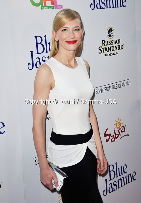 Cate Blanchett at the Blue Jasmine Premiere at the Academy Of Motion Picture in Los Angeles.
