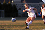 29 November 2013: Virginia Tech's Kelsey Loupee. The Virginia Tech University Hokies played the Duke University Blue Devils at Thompson Field in Blacksburg, Virginia in a 2013 NCAA Division I Women's Soccer Tournament Quarterfinal match. Virginia Tech won the game 3-0.