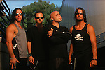 Various portrait sessions of the rock band, Disturbed.
